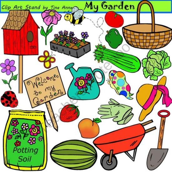 Wood clipart school garden #4