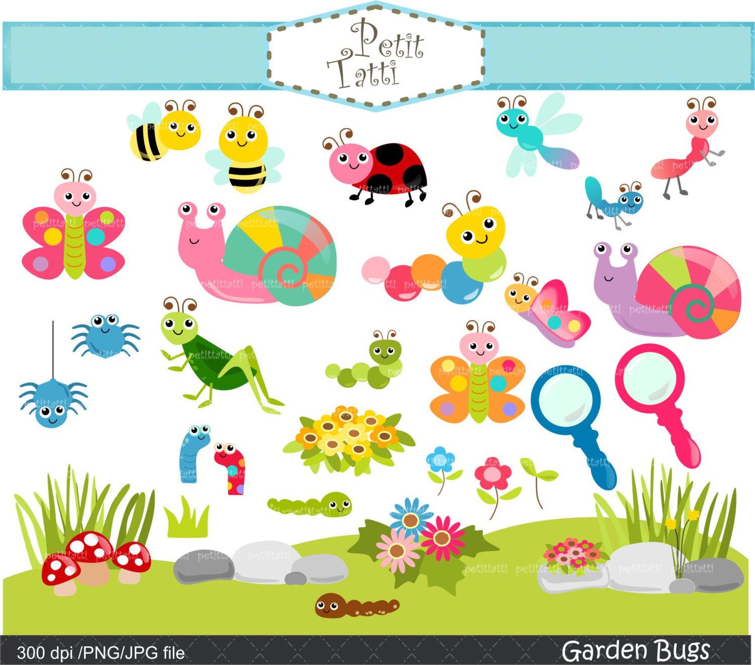 Bugs clipart garden insect Is ON bugs bugs clip