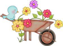 Garden clipart wheelbarrow ღ this on Find &