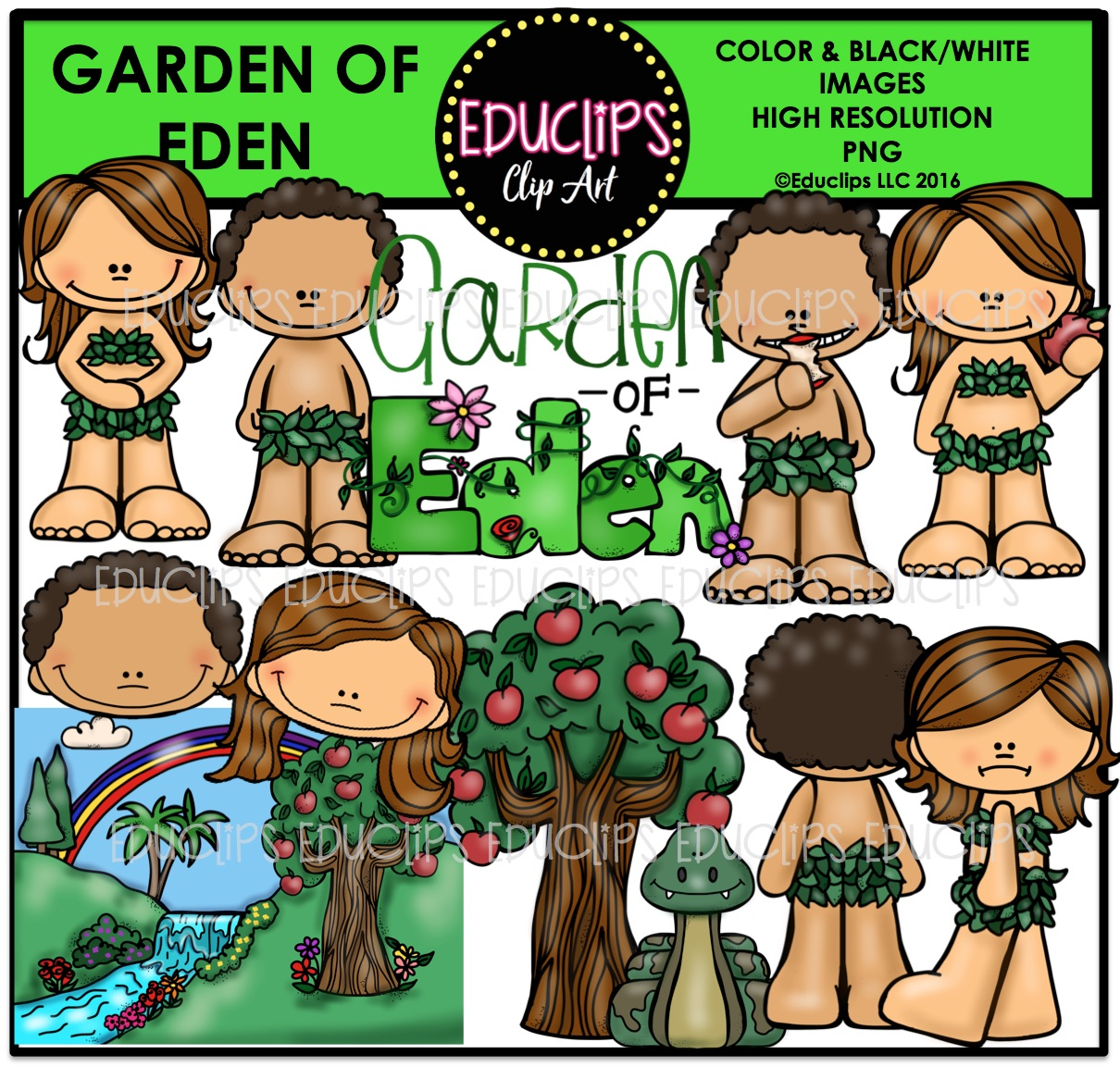 Garden Of Eden clipart #9