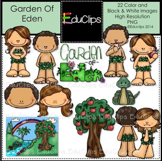 Garden Of Eden clipart bible Bundle Art Garden Of Eden