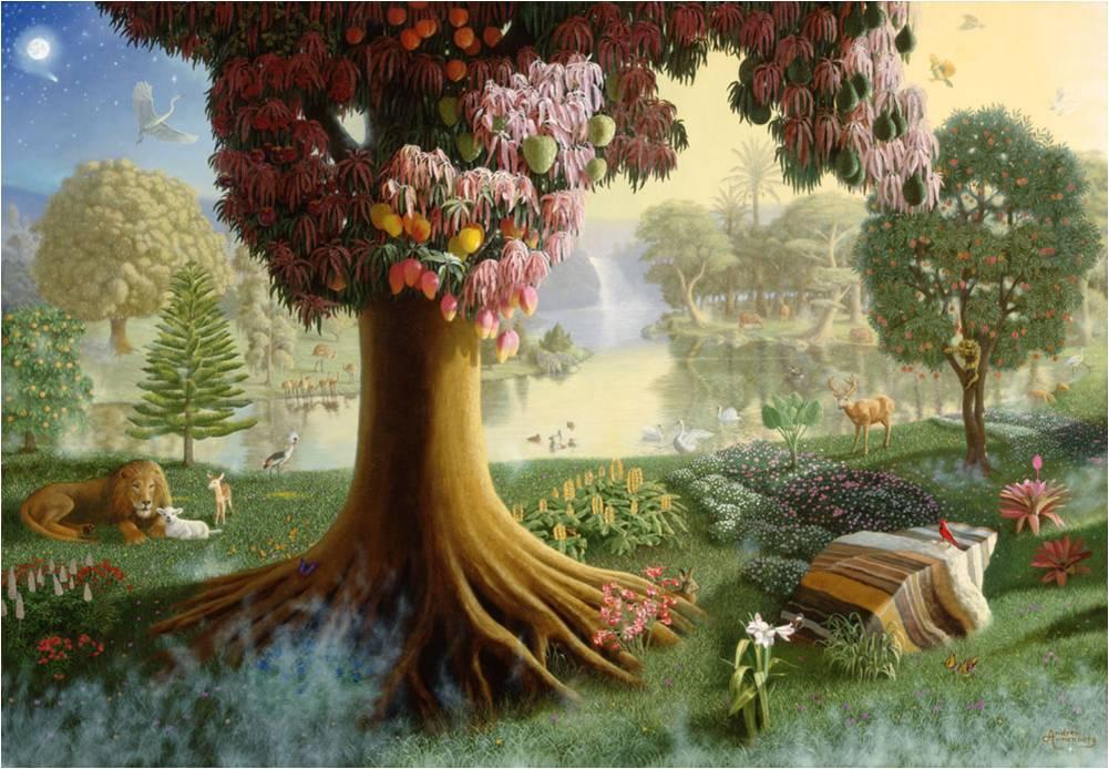 Garden Of Eden clipart bible Collection of garden of Garden