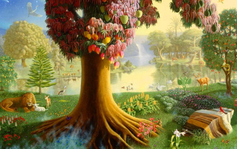 Garden Of Eden clipart maui And Connecting Reality Tree The