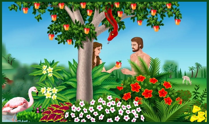 Garden Of Eden clipart disobedient child 1 Eden Jesus and fruit