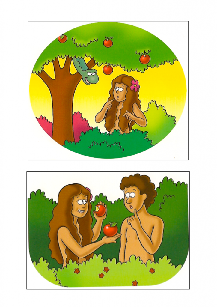 Garden Of Eden clipart disobedient child Adam Eve FFWPU Lesson »