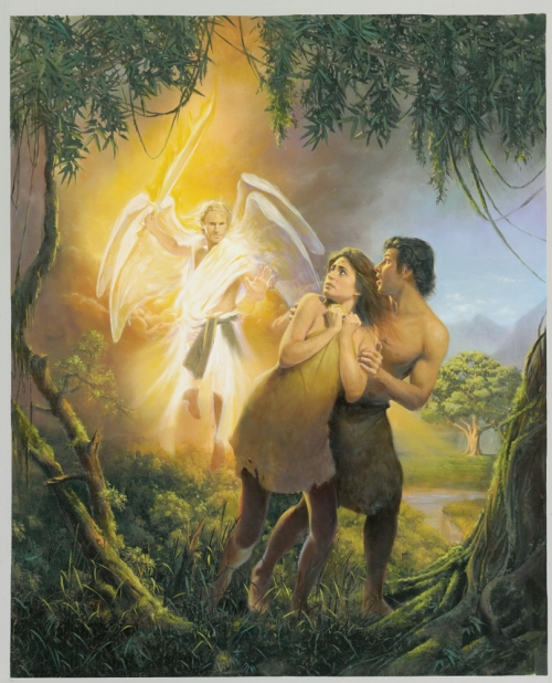 Garden Of Eden clipart genesis God  the deception Adam