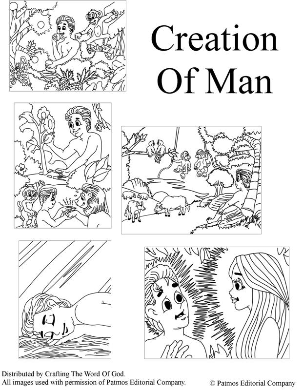 Garden Of Eden clipart god created the world Of Adam The Eve Crafting