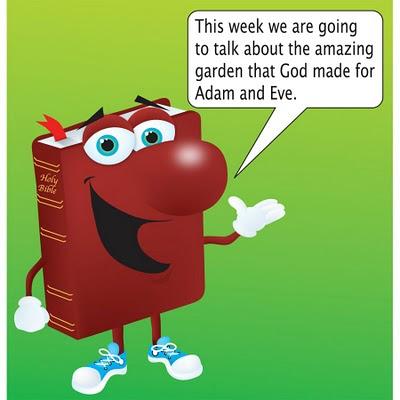 Garden Of Eden clipart god created the world The on animals God earth