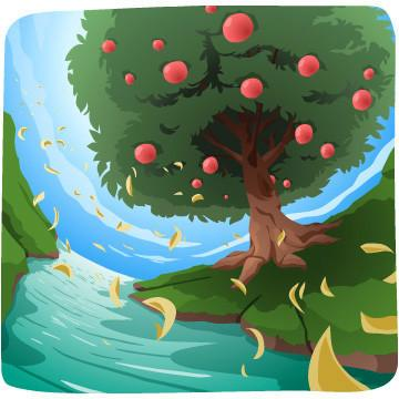 Garden Of Eden clipart god created the world 27 world after and God