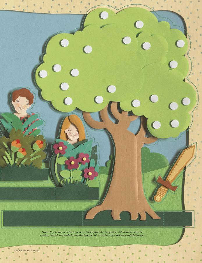 Garden Of Eden clipart lds #7