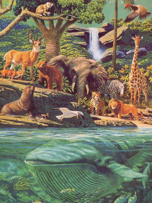 Garden Of Eden clipart paradise Creation: on domestic sea JW