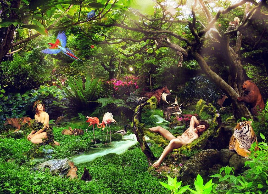 Garden Of Eden clipart paradise For In Prodigals: net September
