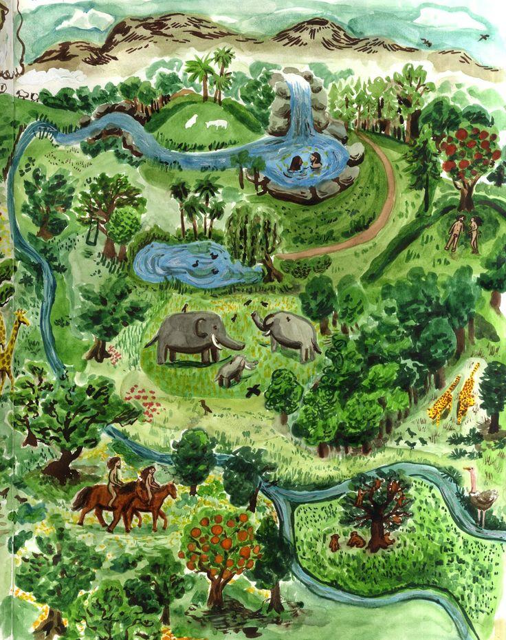 Garden Of Eden clipart taman eden Best images of Eden Garden