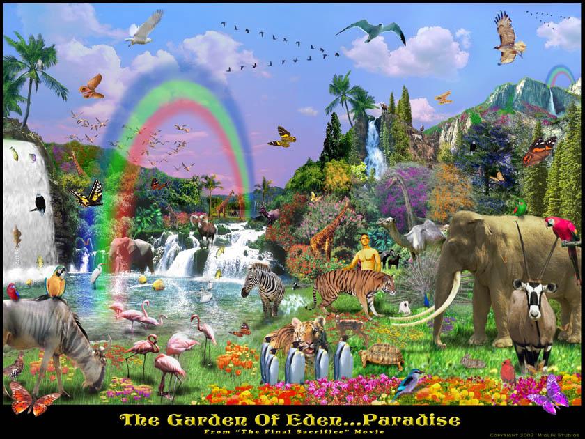 Garden Of Eden clipart taman eden Images art of Easter eden