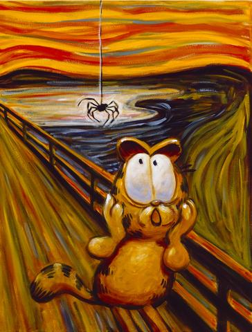 Garfield clipart art painting Giclees Collectibles All Hairy The