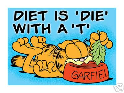 Garfield clipart binge eating I  RECOVER can Q
