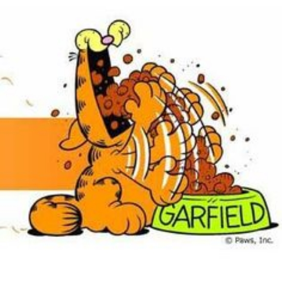 Garfield clipart binge eating RECOVERY Tired? or Hungry Lonely