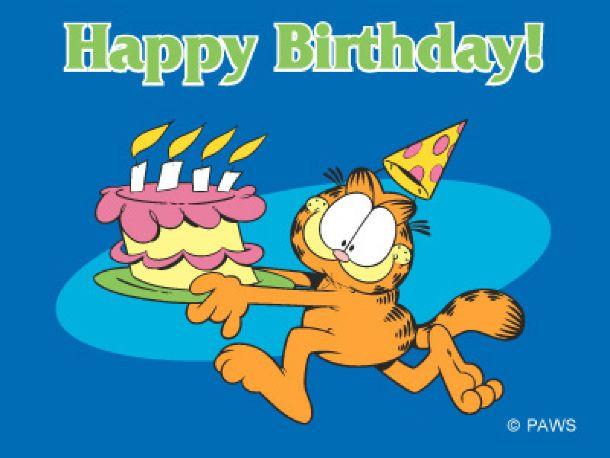 Garfield clipart birthday cat Garfield CatBirthday 3 Garfield ·