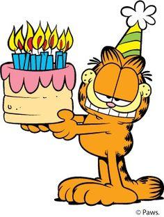 Garfield clipart birthday cat 6 Seite Clipart kostenlose gratis