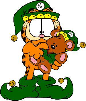 Garfield clipart cartoon character #7