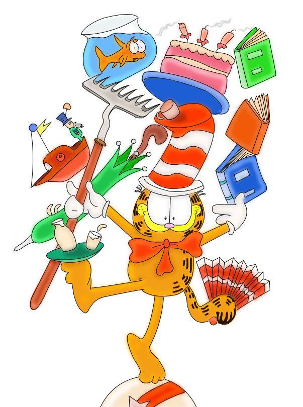 Garfield clipart cartoon network Images Pinterest Hat 353 Hat