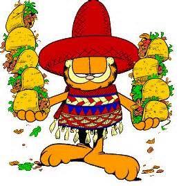 Spanish clipart spanish food Garfield Garfield Free Art Clipart