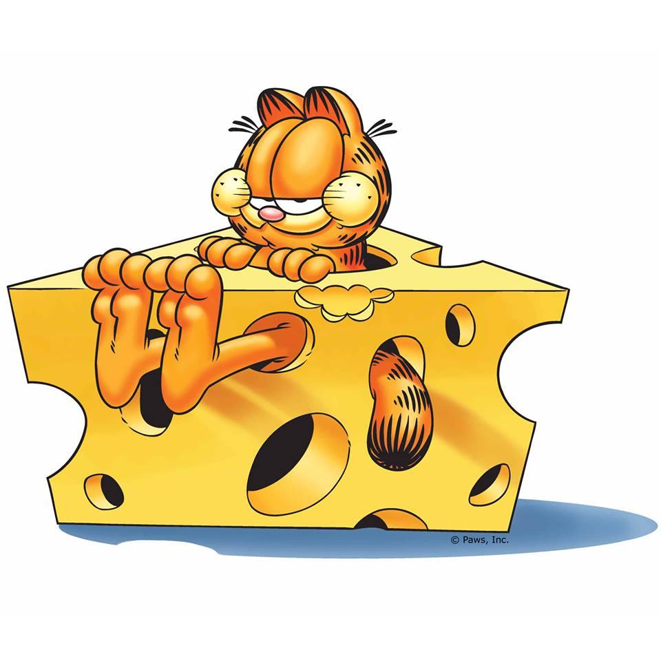Garfield clipart guten tag Garfield Käse Bilder Garfield Tag