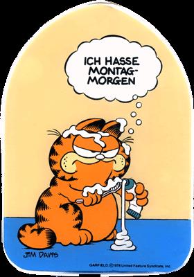 Garfield clipart guten tag GArfield Deutsch Lernen Kreativ Pinterest