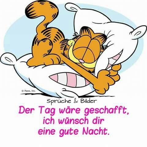 Garfield clipart guten tag Gute on images Nacht Gute