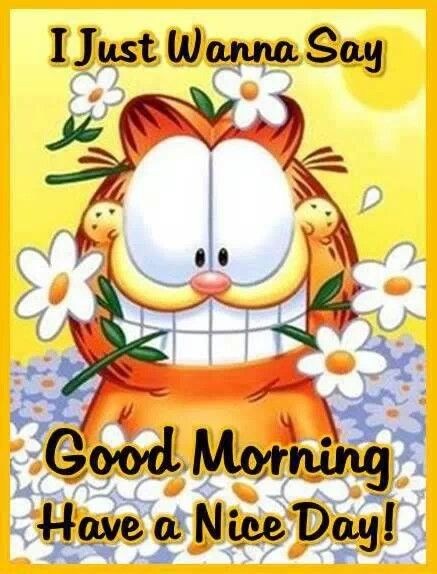 Garfield clipart guten tag Garfield about on images Morning!