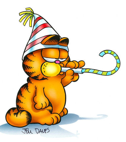 Garfield clipart happy Birthday Airbrushed Birthday Airbrushed Artwork