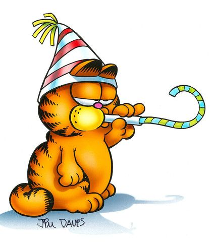 Garfield clipart party Airbrushed 37 It's on Your
