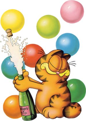 Garfield clipart party This Garfield and Pinterest more
