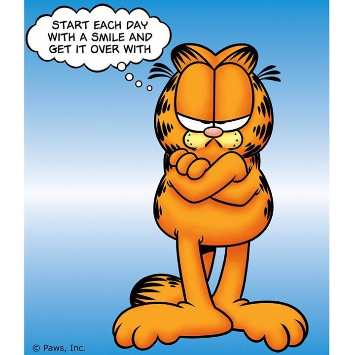 Sick clipart garfield On 103 on images GARFIELD