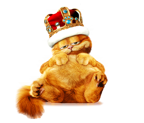 Garfield clipart small cat King PNG Explore Fat Free
