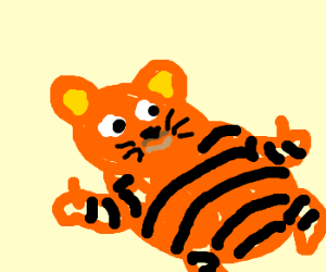 Garfield clipart thumbs up A Content Content is up