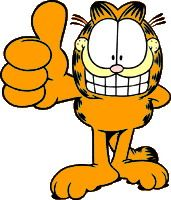 Garfield clipart thumbs up On images Up Garfield Garfield