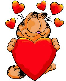 Garfield clipart valentine 97 on this Valentine's Cat