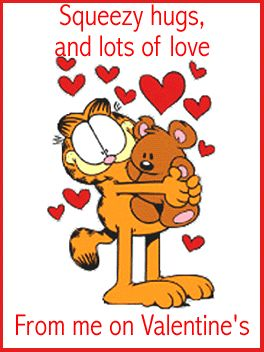 Garfield clipart valentines day #4
