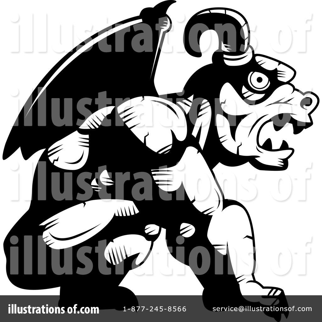 Gargoyle clipart By Gargoyle (RF) Clipart Illustration