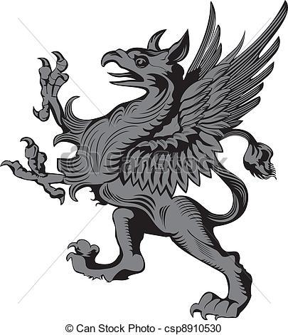 Gargoyle clipart Vector Vector illustration illustration gargoyle