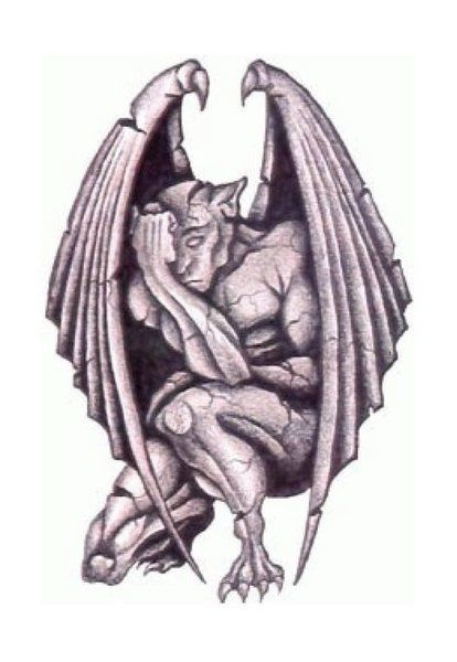 Gargoyle clipart tribal TattooTribal Related Best image Pinterest
