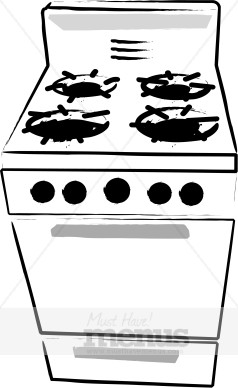 Gas Cooker clipart bake oven Stove Clipart Stove Gas Cooking