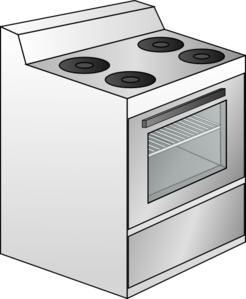 Gas Cooker clipart Royalty at Clip Art