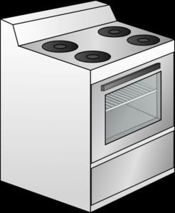 Gas Cooker clipart #6