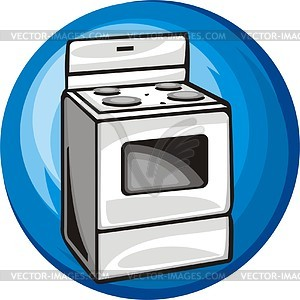 Gas Cooker clipart electric stove Stove Electric Clipart cliparts Stove