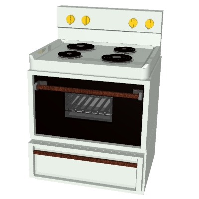 Gas Cooker clipart electric stove Open Free Free Open