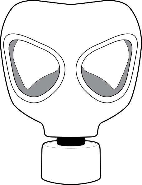 Gas Mask clipart hazard Drawing art svg Open clip