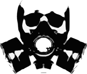 Gas Mask clipart Online art clip at Gas