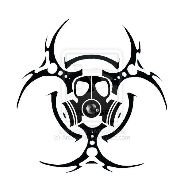 Mask clipart biohazard By Bio Clker  Gasmask
